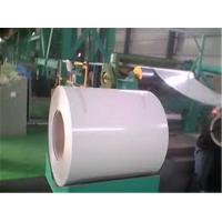 China Anti - Scratch Writing Broad Color Coated Galvanized Steel Coil Green / White For Office wholesale