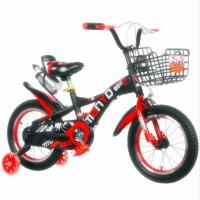 China Factory Direct Downhill 12 Inch 4 Wheel Road Kids Bike for 3-10 Years old wholesale