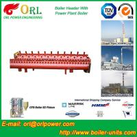 China Electrical Water Boiler Header Manifolds High Pressure , Heating Manifold Systems wholesale