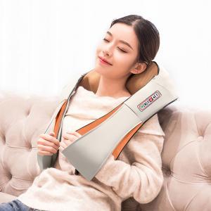 China Improve Circulation Neck And Shoulder Massager With 8 Carbon Fiber Massage Head wholesale