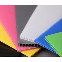 China 4' x 8' Roofing Corrugated Plastic Sheets for Greenhouse , Waterproof wholesale