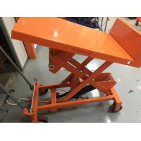 China High Capacity Manual Tilt Table Truck TF30F TF50F 490×550 Mm Table Dimensions wholesale