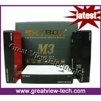 China Skybox M3 hd pvr satellite receiver for worldwide market wholesale