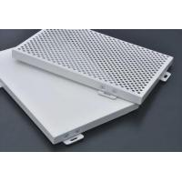 China Engraved PVDF Coated Perforated Aluminum Panels For Room Roof 2440x1220x20mm wholesale