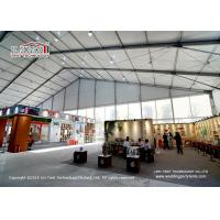 China 50M Wide Outdoor Event Tents Plain White PVC Roof Cover Durable on sale