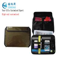 China Tech Organizer Laptop Bag , Electronics Travel Cocoon Grid It Organiser on sale