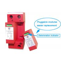 China 48v DC Surge Protection Devices 3 Phase For Solar Pv / Outdoor Surge Protector wholesale