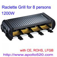 China Raclette Grill for 8 persons wholesale