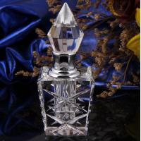 China Customized Vintage Crystal Perfume Bottles Silk-Screen Printing Surface wholesale