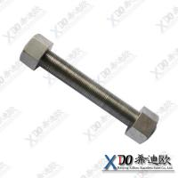 China Hastelloy B2 stainless steel fasteners full threading double end bolt thread rod DIN 976 wholesale