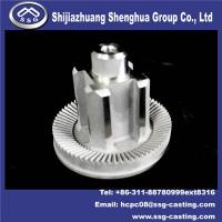China Investment Casting Machine Parts Gear Shaft on sale