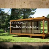 China Affordable Modern Prefab Container House , Standard Wooden Container Cottage Good Insulation wholesale