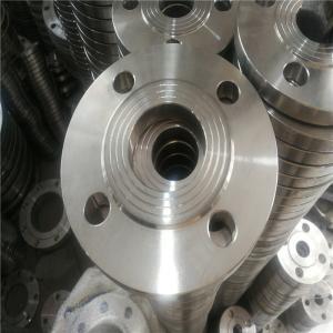 China 25mm 100mm 4 Inch Stainless Steel Flange Pn16 DIN 2573 PN6 DIN 2576 PN10 Sa182 F316l F304l wholesale