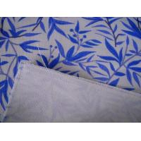 Quality Recyclable 6OZ Shoes Printed Cotton Canvas / Plain Woven Fabric For Bags for sale