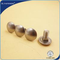 China M6~M20 Round Head Carriage Bolt , Square Neck Carriage Bolt 4.8 Grade wholesale