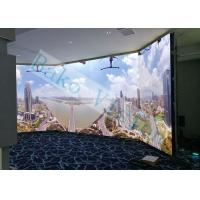 China Wide Viewing Angle UHD LED Display , 1R1G1B Full Color Video Wall For TV Studio wholesale