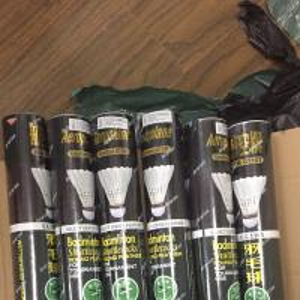 China 50 DOZ AEROPLANE BLACK EG1101 FEATHER BADMINTON SHUTTLES SHUTTLECOCKS SPEED 51 wholesale