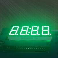 China Pure Green 4 Digit 7 Segment Led clock Display 0.56 Inch  common anode For Instrument Panel wholesale