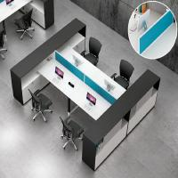 Buy cheap Anti - Water Standard Office Table With Drawer , 2 - 6 Office Desk Dividers from wholesalers