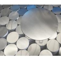 China Silver 1060 CC Cutting Discs Aluminium Circle Mill Finish Surface For Light Cover on sale