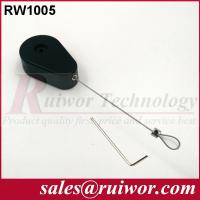 Buy cheap Stainless Steel Retractable Wire Rope Reel , Retractable Security Cord  from wholesalers