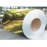 China Customized Thickness Aluminum Sheet Roll With Mirror Surface For Interior Mosaic Panel on sale