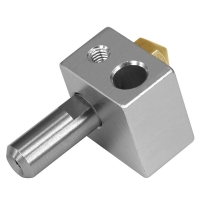 China Silver 0.5mm 0.8mm MK10 3D Printer Extrusion Head Stainless Steel wholesale