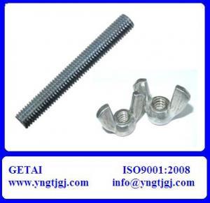 China DIN Grade 4.8-12.9 Galvanized Threaded Rod of Good Quality on sale