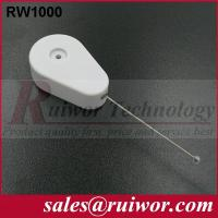China Retractable Tether Security Device For Security Solutions , Retractable Security Wire wholesale
