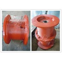 China Lebus Grooved Drum With Flange , Parts Of The Wich , Or Full Machine wholesale