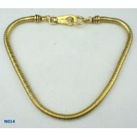China Women's Tin Alloy Electroplated Jewelry Mixed Metal Necklace for Gift OEM wholesale