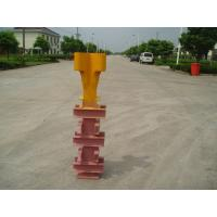 China Potain Tower Crane Spare Parts Q345 Steel Finxing Angle Yellow Color With Waterproof Plating wholesale
