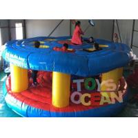 China Funny Team Whac-A-Mole Beat Them Kick Off Inflatable Sport Game 110 - 230V Blower wholesale