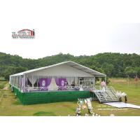 China 500 People Luxury Wedding Tents with Roof Lining and Curtains for Weddings and Parties wholesale
