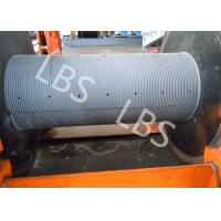 China Low Noise Spooling Device Winch With Split Type Lebus Groove Sleeve wholesale