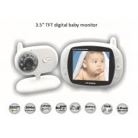 China 3.5 inch Digital Wireless Audio Video Baby Monitor wholesale