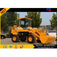 China 30kN Max Breakout Force Micro Wheel Loader with quick hitch 0.65m3 wholesale