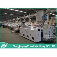 China Single / Multiple Layer PP PE Pipe Extrusion Line 63-630mm Pipe Diameter on sale