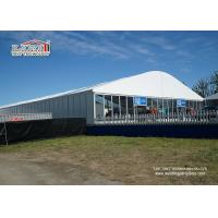 China 2000 sqm Special Outdoor Exhibition Tents Exhibition Booth With PVC Sidewall wholesale