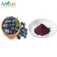 China Dark Purple Natural Organic Freeze Dried Blueberry Powder Anthocyanin Included wholesale