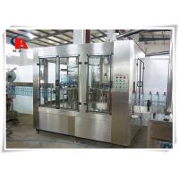 China Small Juice Automatic Liquid Filling Machine 380V 50Hz CIP Self Cleaning Interface wholesale