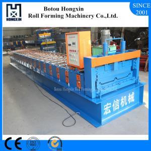 China Aluminum Metal Sheet Forming Machine, 70mm Shafts Roof Sheet Making Machine on sale