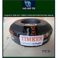 China ISO 9001 Certified Timken Tapered Roller Bearing / OEM Car parts HH932145 / HH932110 wholesale