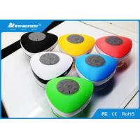 China Rubber Outdoor Waterproof Wireless Bluetooth Speakers Portable Radio 3 W Power wholesale