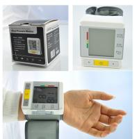 China Custom Digital Wrist Blood Pressure Monitor Heart Rate Meter For Home Clinic wholesale