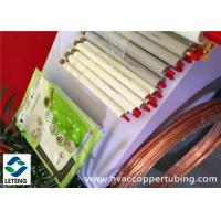 China Thick Walled Plated Coated Rigid Copper Pipe for Air Condition / Refrigerator wholesale