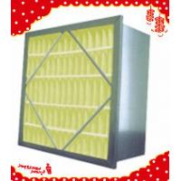 China 592x592x292mm (24″×24″×12″) Extended surface self-supported rigid box filter wholesale