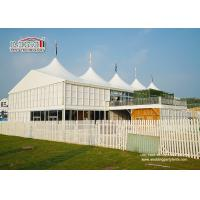 China 20x30m Outdoor	High Peak Tents  With Double Decker For 500 People Event Function wholesale