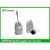 China Easy Operation Bathroom Cleaning Accessories Self Cleaning Toilet Brush HT1030 wholesale