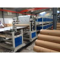 China PE Pipe Machine Aluminum Composite Panel Line 5m / min 1200mm Height wholesale